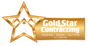 Logo for Gold Star Contracting - A 5 Star Roofing Company