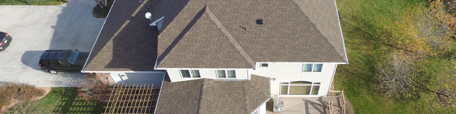 Our roofers only use the finest quality materials for residential roof replacement.