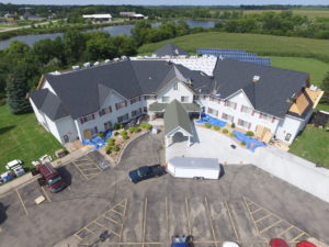Gold Star serves multi-family units with Commercial Roofing installations