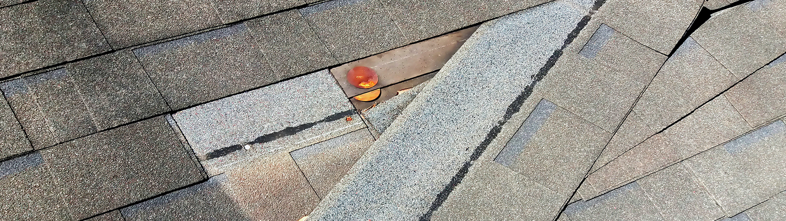 damaged roof in Jordan MN