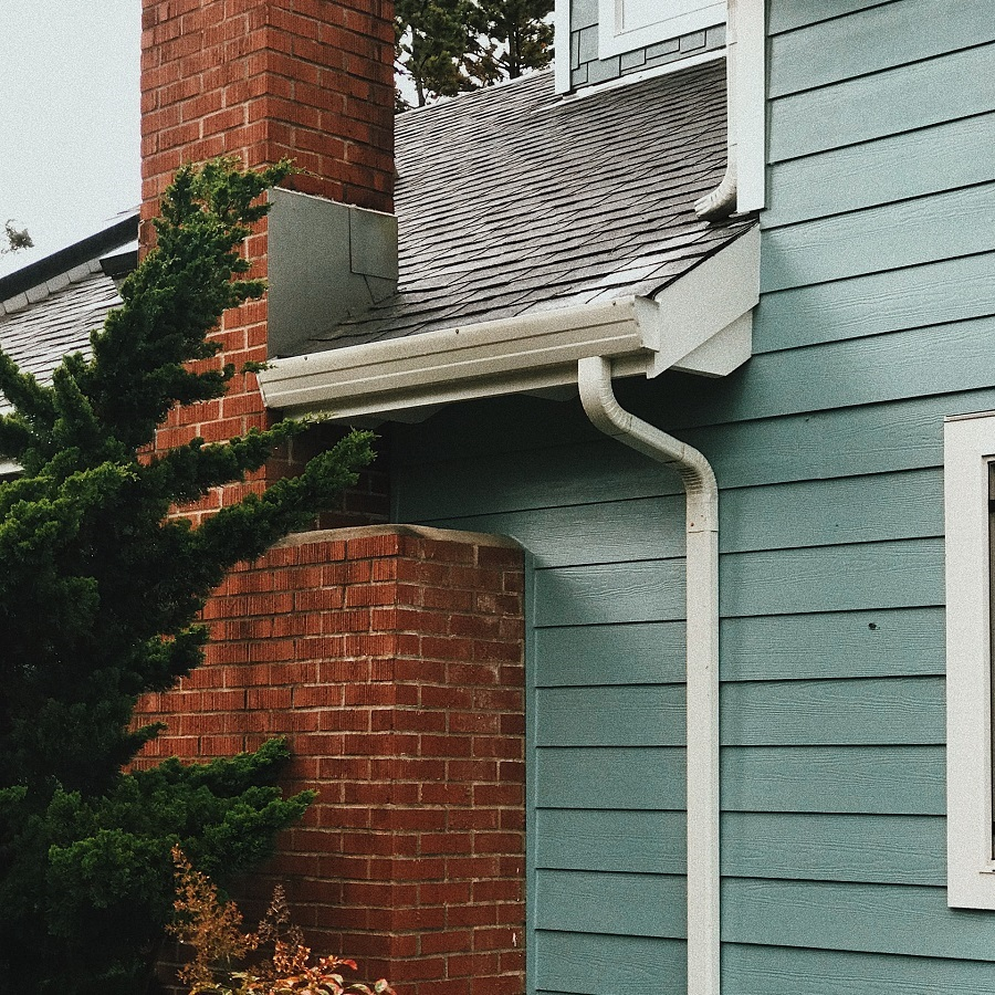 Clogged or Damaged Gutters