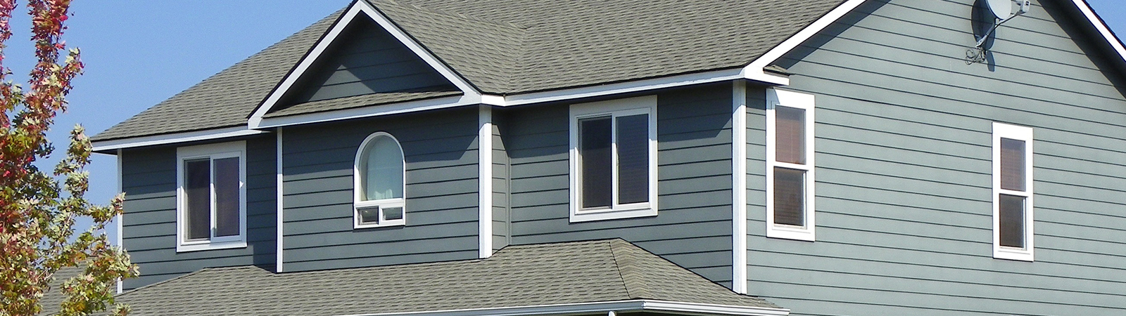 Residential roof in Chashassen, MN